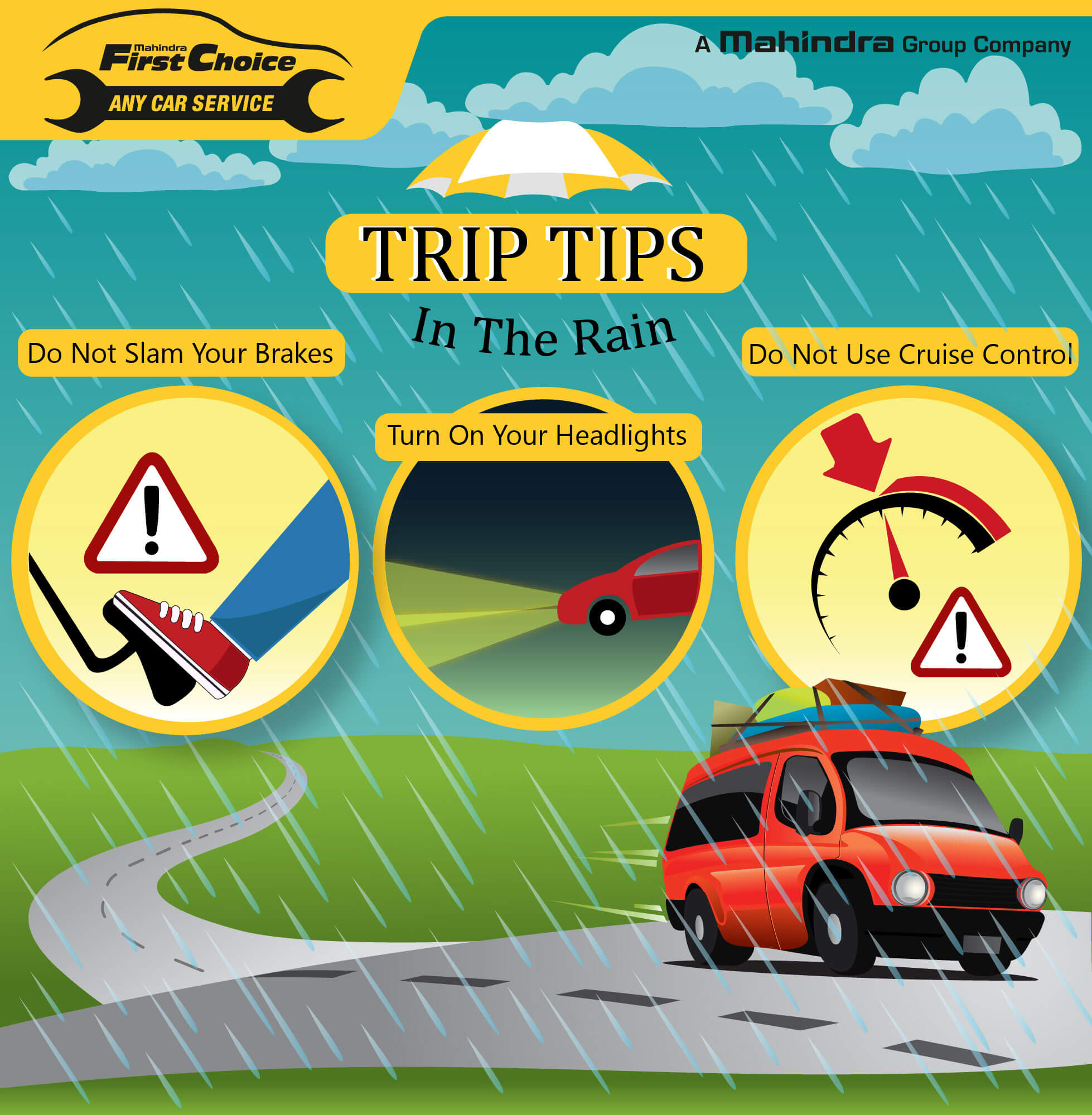 Trip Tips In The Rain - MFCServices