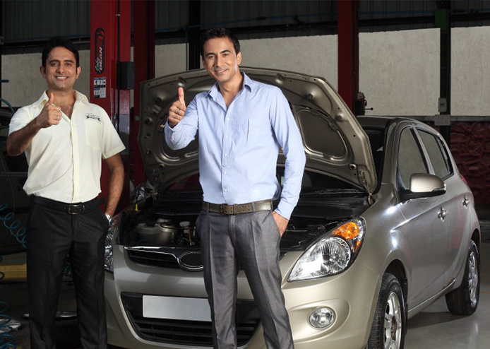 Mahindra First Choice Services - Advantage